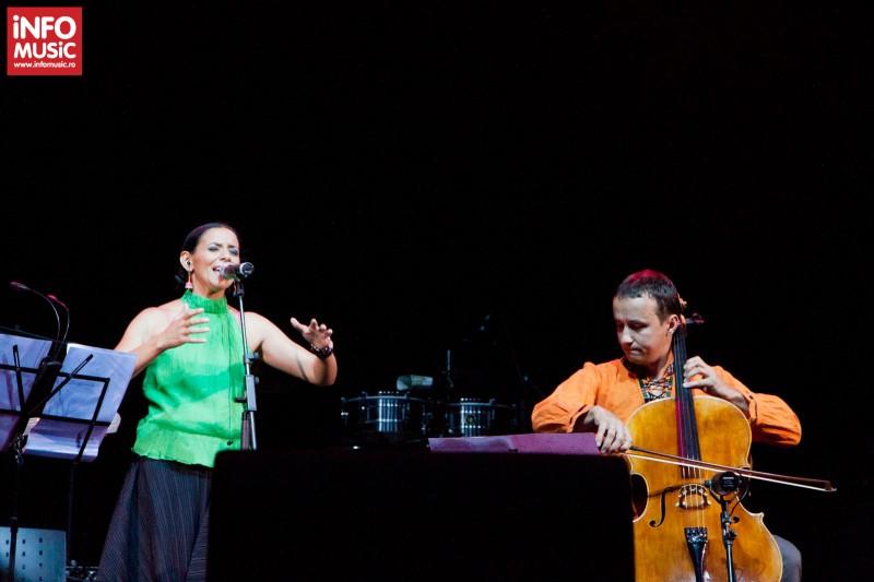 Concert Analia Selis în deschidere la Buena Vista Social Club