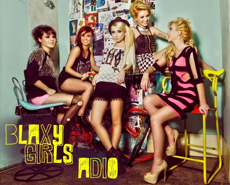 "Blaxy Girls - ""Adio"" single 2013"