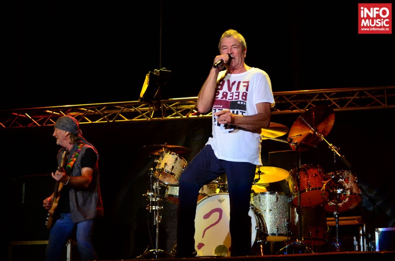 Concert Deep Purple la Kavarna Rock Festival 2013, Bulgaria.