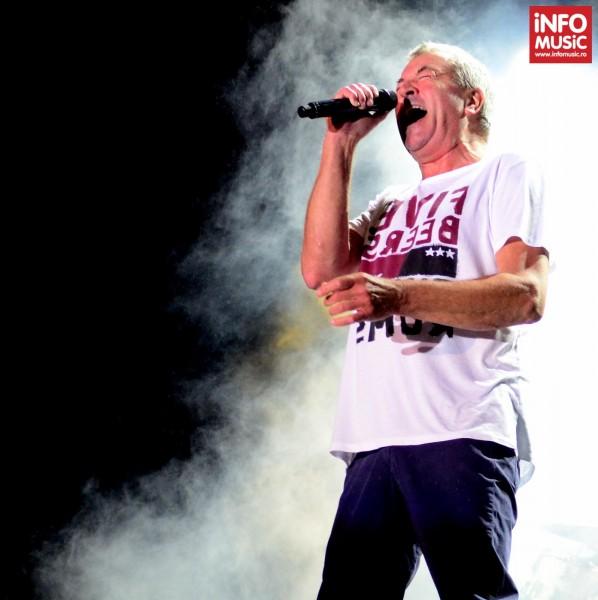 Solistul Ian Gillan (Deep Purple) la Kavarna Rock Festival 2013, Bulgaria.