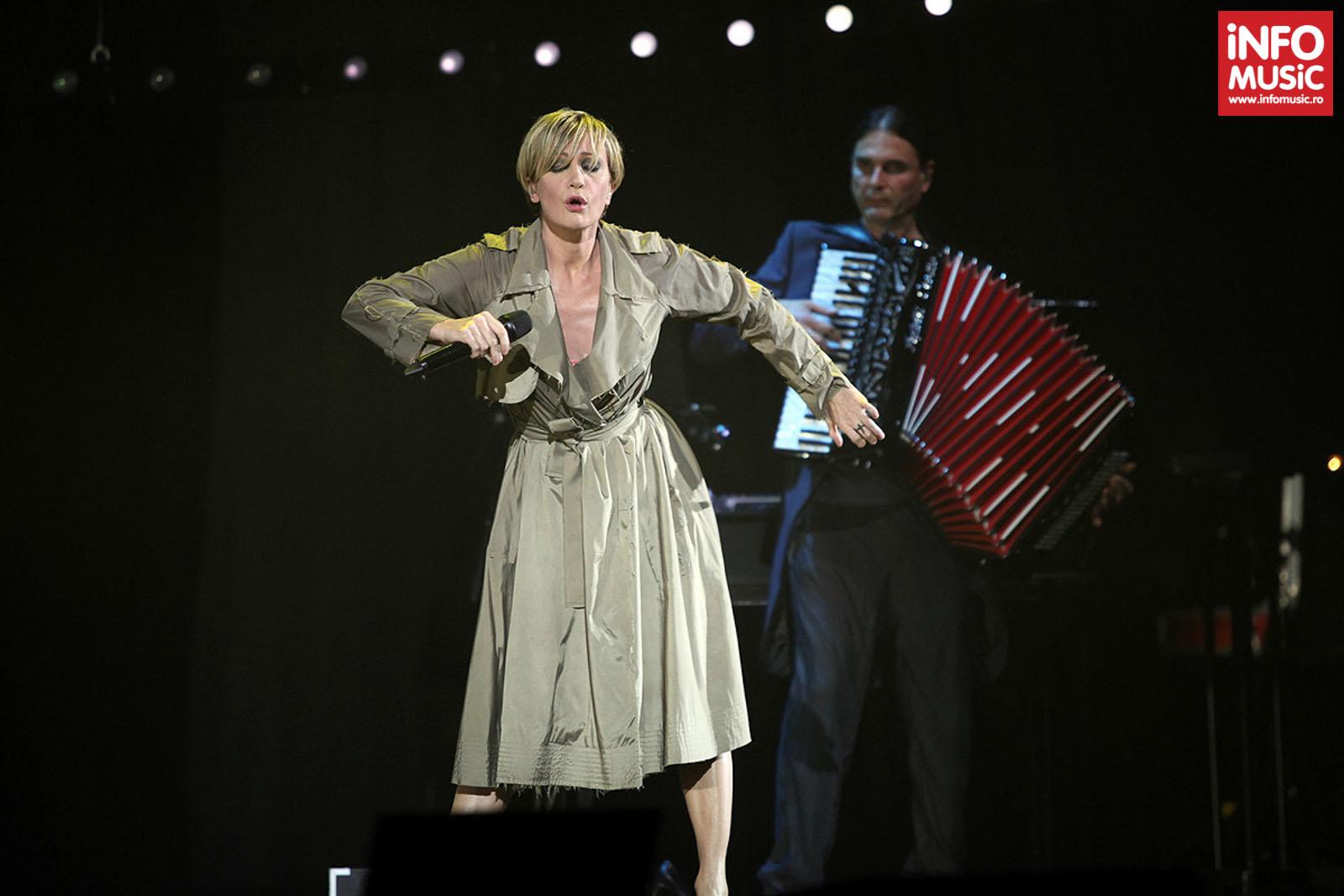 Concert Patricia Kaas la Sala Palatului din Bucuresti, 23 iunie 2013