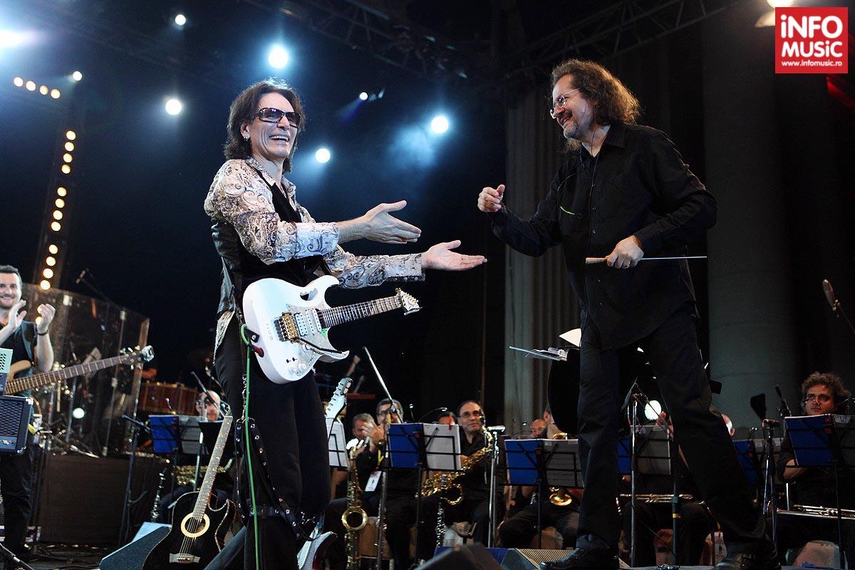 Concert Steve Vai la Arenele Romane