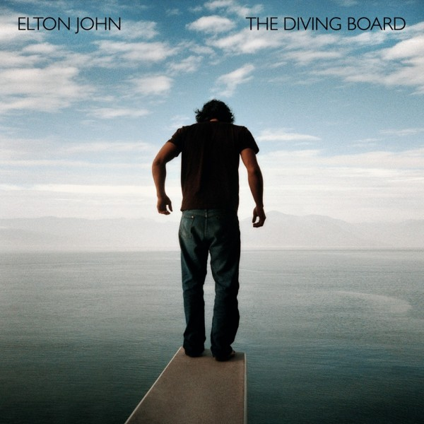 "Elton John - ""The Diving Board"" album artwork"