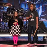 Aaralyn și fratele său Izzy au interpretat la America's Got Talent o piesă black metal