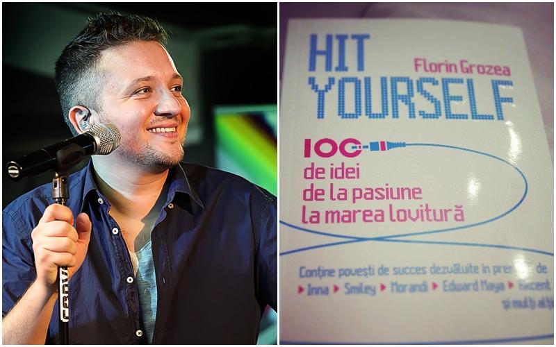 """Florin Grozea a lansat cartea """"Hit Yourself: 100 de idei de la pasiune la marea lovitură"""""""