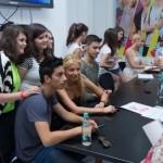 LaLa Band la lansarea primului magazin și fan club oficial