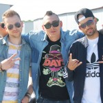 "Mahia Beldo, Doddy, DJ Wicked la filmările clipului ""Klandestin (Dollar Bill)"" - Doddy feat. Puya"