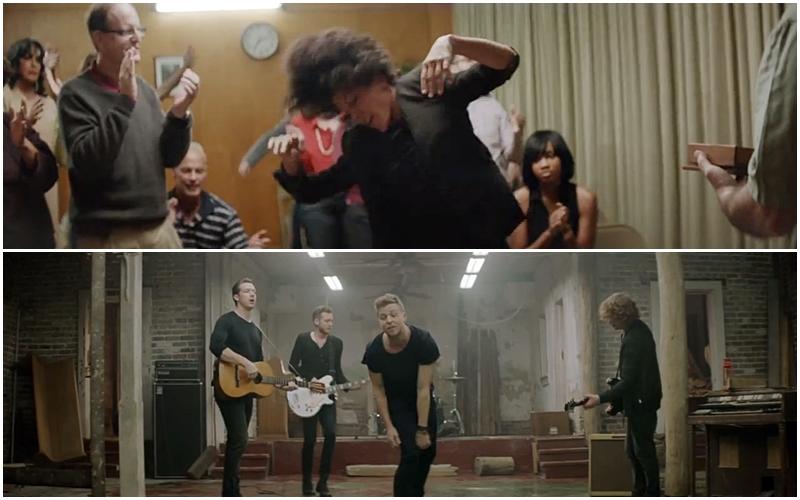 """Secvențe clip OneRepublic - """"Counting Stars"""""""