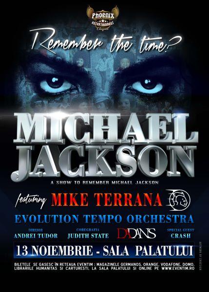 ANULAT - Mike Terrana - Concert tribut Michael Jackson