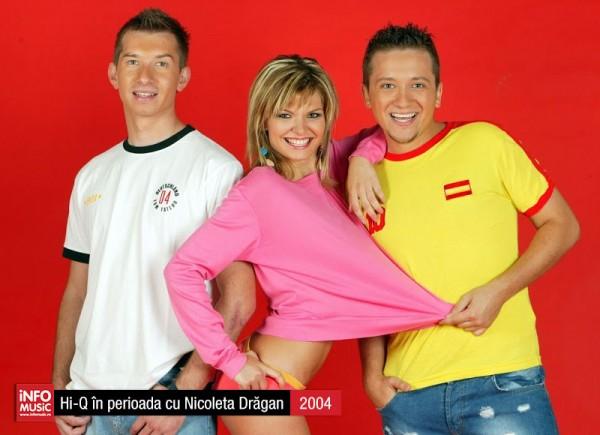 Hi-Q în fotografii - cu Nicoleta Drăgan (2004)