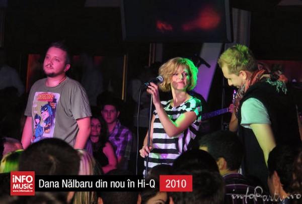 Hi-Q în fotografii - Dana Nălbaru revine în Hi-Q (2010)