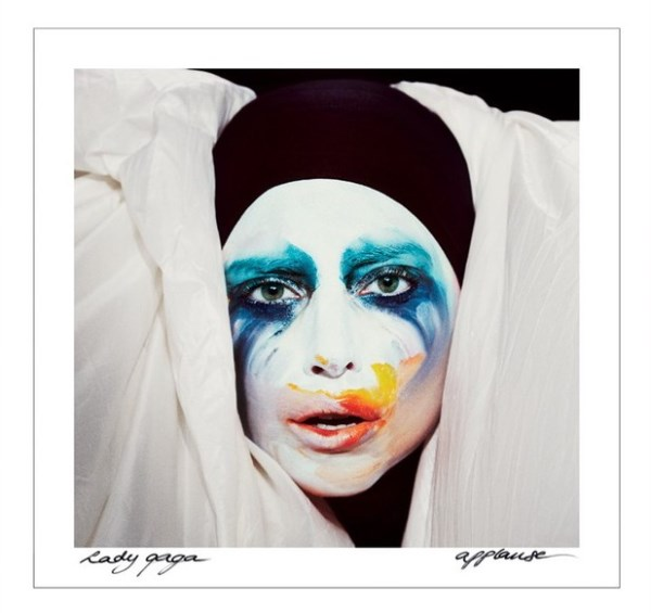 "Lady Gaga - ""Applause"" Artwork"