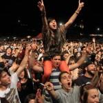 Publicul la concertul NOHA de la Festivalul Peninsula 2013