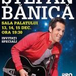 Poster concerte de Craciun Stefan Banica - Alerg printre stele