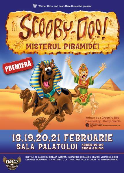 Scooby-Doo şi Misterul Piramidei la Sala Palatului