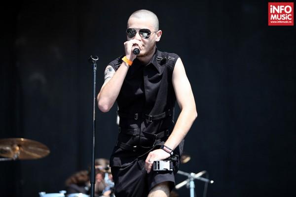 Psychogod în concert la Rock The City pe 28 iulie 2013