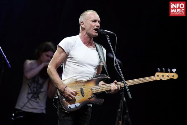 Sting în concert la București pe 31 iulie 2013
