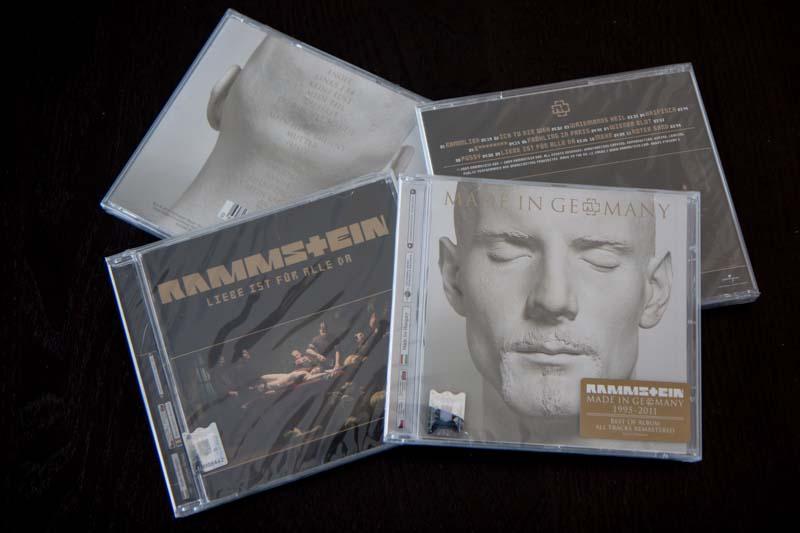 Albumele Rammstein oferite ca premiile in concursul InfoMusic