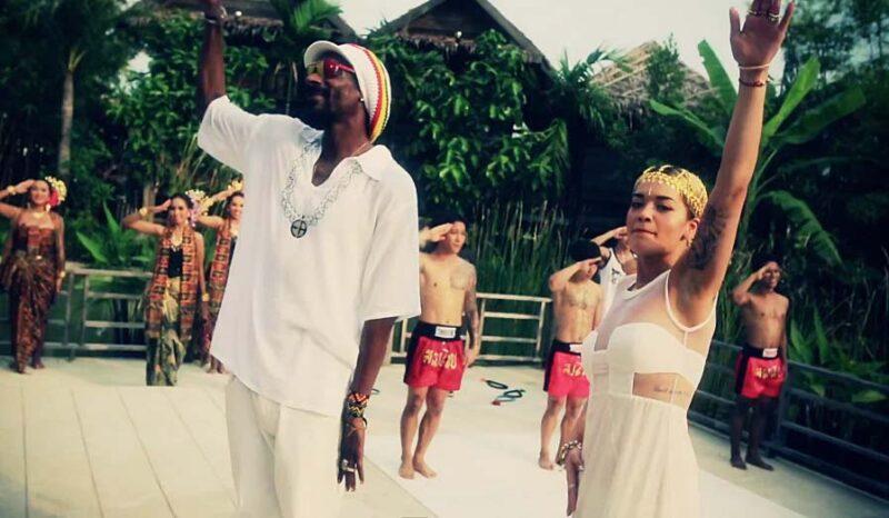 Secvență clip Snoop Lion -