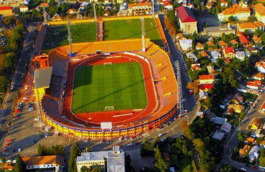 Stadionul Municipal Piatra Neamț din Piatra Neamț