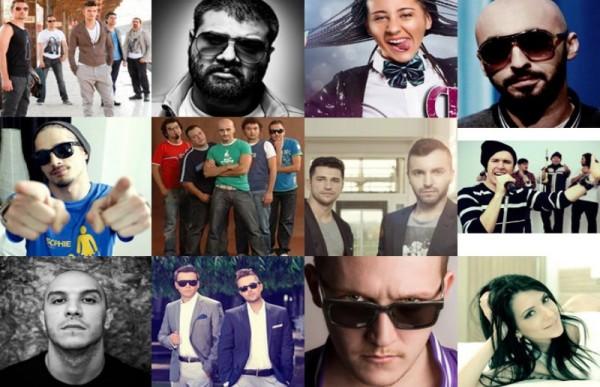Artiști ce pot fi votați la Media Music Awards 2013
