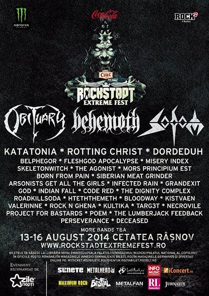 Rockstadt Extreme Fest 2014 la Cetatea Râșnov