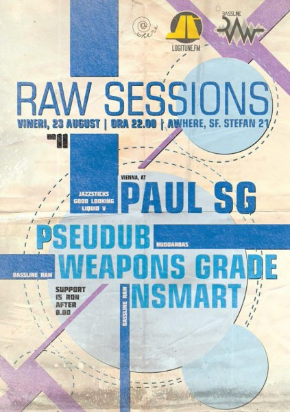 Poster eveniment Raw Sessions 11