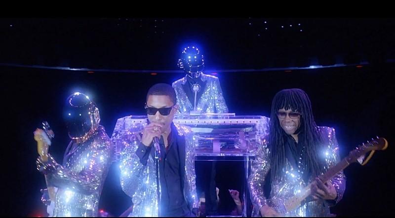 Secvență clip Daft Punk -