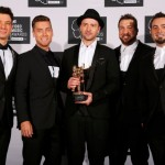 Justin Timberlake și colagii din NSYNC la premiile MTV VMA 2013