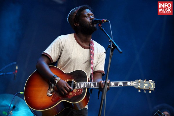 Michael Kiwanuka în concert la Summer Well 2013