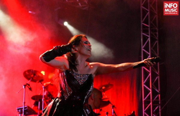 Within Temptation la ARTmania Festival Sibiu 2013