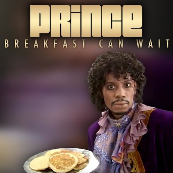 """Prince - """"Breakfast Can Wait"""" (artwork)"""