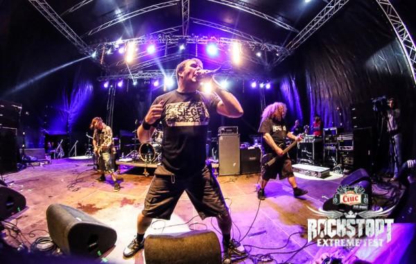 Napalm Death la Rockstadt Extreme Fest 2013