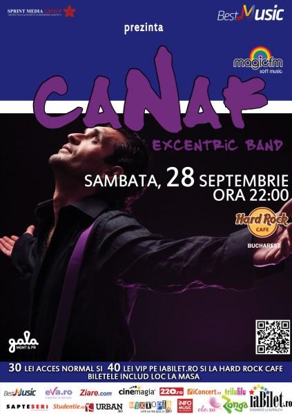Canaf la Hard Rock Cafe