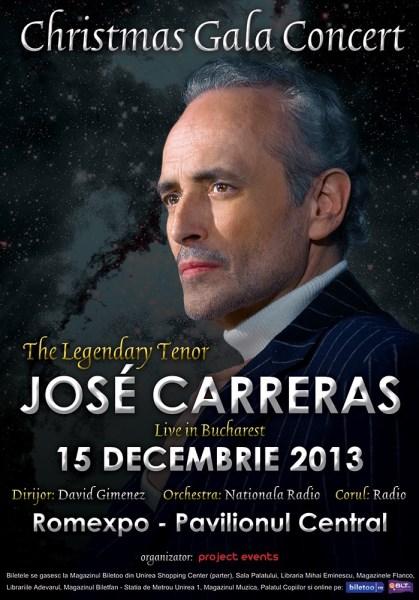 Jose Carreras la Romexpo