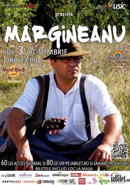 afis-mihai-margineanu-concert-hard-rock-cafe-3-octombrie-2013
