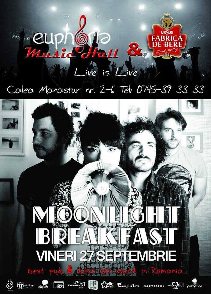 Moonlight Breakfast la Euphoria Music Hall