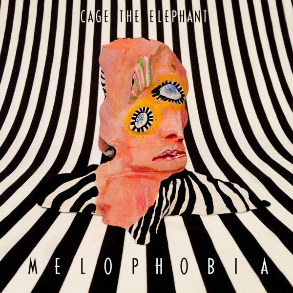 "Cage The Elephant - ""Melophobia"" cover art"