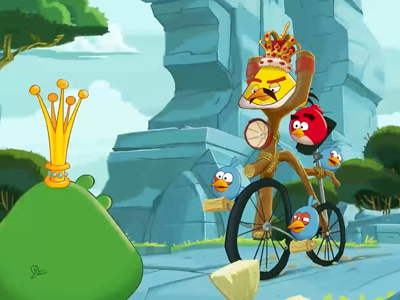 Angry Birds Friends - competiție specială: Freddie For A Day