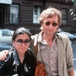 Yoko Ono și John Lennon (22 august 1980, New York)