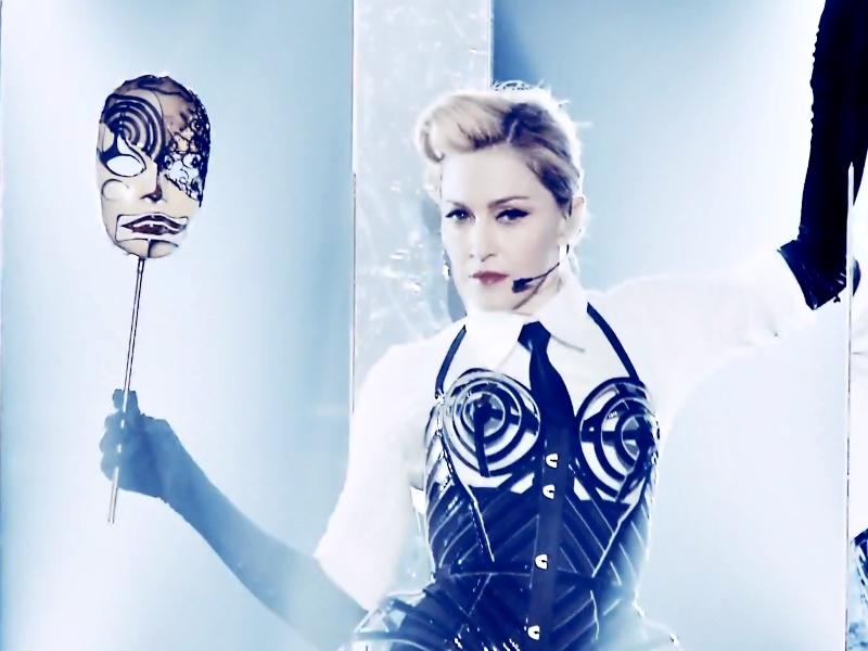 Secvență clip Madonna -