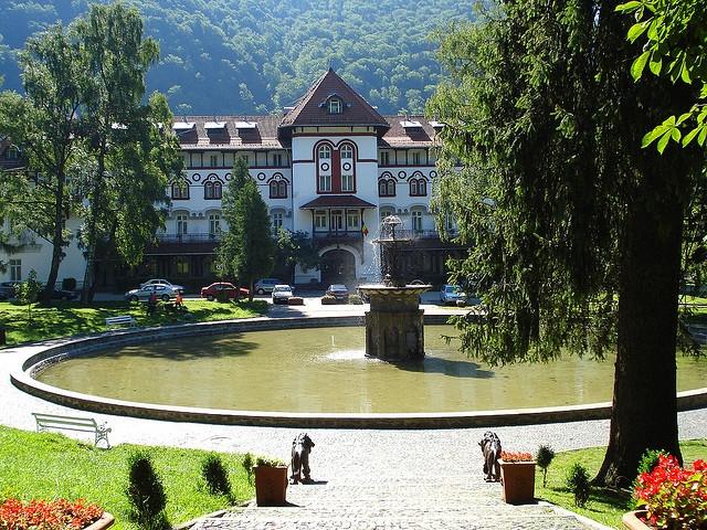 Parcul Dimitrie Ghica din Sinaia