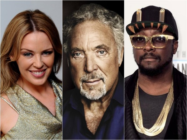 Tom Jones, Kylie Minogue și Will i.am. în juriul The Voice UK 2014