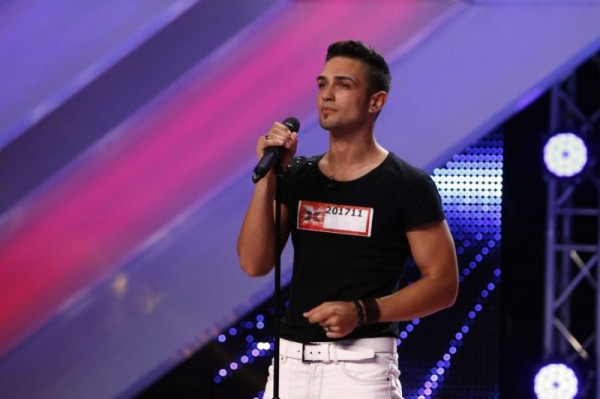 Alex Simion la X Factor Romania