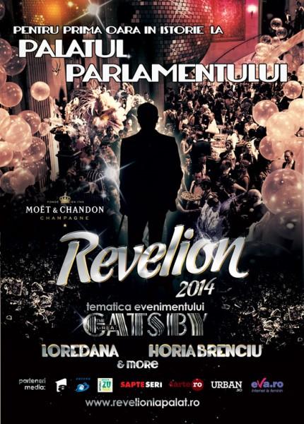 Revelion 2014 la Palatul Parlamentului - Marele Gatsby