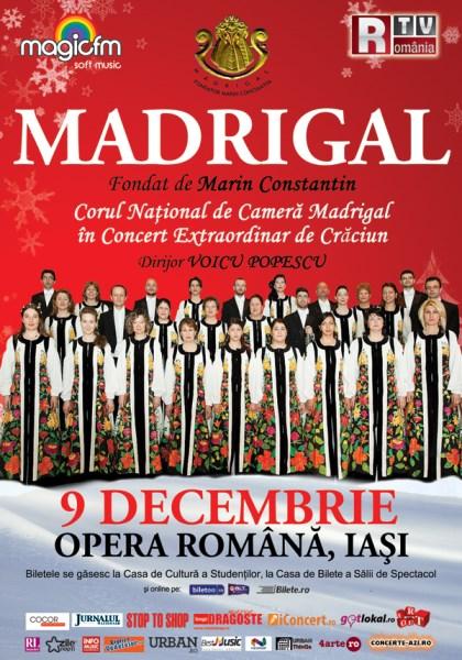 Corul Madrigal la Opera Națională Română Iași