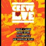 afisul evenimentului Crew Love din 19 Octombrie