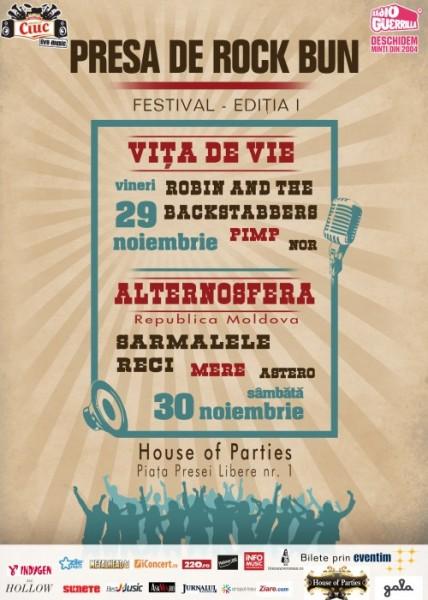 afis-presa-de-rock-bun-house-of-parties-bucuresti-29-30-noiembrie-2013