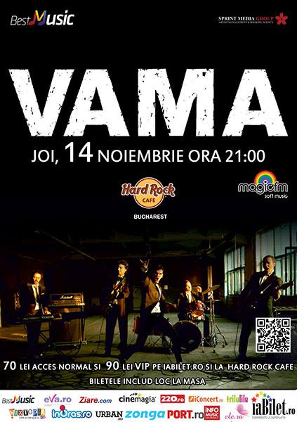 afis-vama-concert-hard-rock-cafe-11-noiembrie-2013