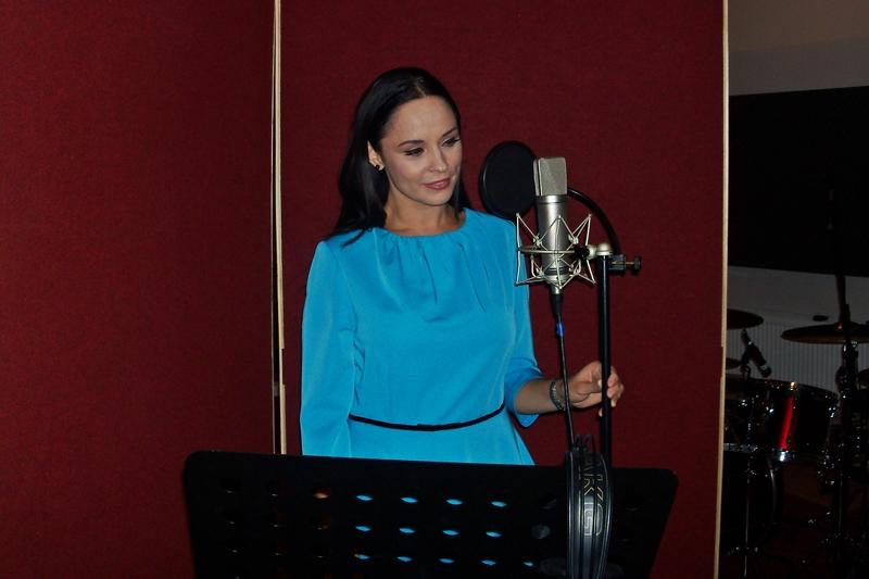 Andreea Marin a înregistrat pentru Cutiuța Muzicală